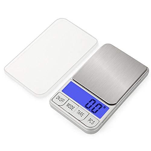 Mini báscula electrónica digital portátil 300g / 0,01g para joyería, pesaje medicinal, balanza de bolsillo de alta precisión 300g 0,01g