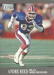 Football NFL 1991 Fleer Ultra #6 Andre Reed #6 NM Bills