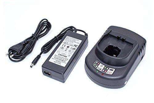 vhbw Cargador compatible con Ryobi P202, P203, P204, P206, P2060, P208B, P210, P2100, P2102, P2105 herramientas, baterías de Ni-Cd, NiMH, Li-Ion