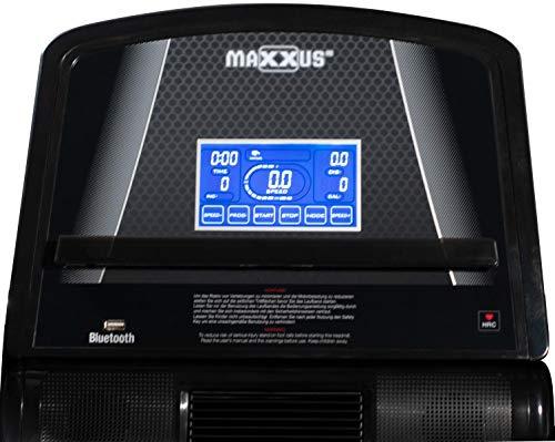 Laufband MAXXUS RunMaxx 4.2i - mit APP-Steuerung, klappbare Lauffläche, Dämpfungssystem, 16km/, 12{2fecf3e7acd5dd31b2bf1cca8b82859deec4c5a70753cd46bf596da3a2a7604d} Steigung