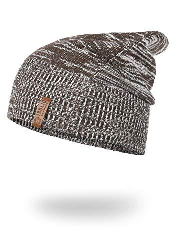 !Solid Bean Herren Wintermütze Beanie Mütze Unisex Aus 100% Baumwolle, Größe:ONE Size, Farbe:Coffee Bean (5973)