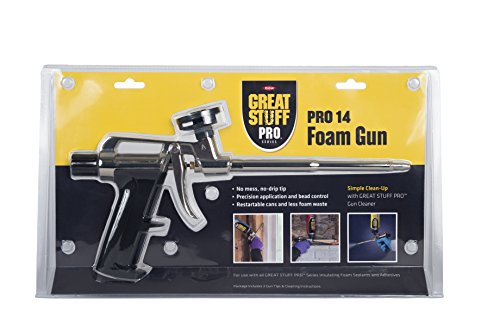 Great Stuff 99046685 Stuff Pro 14 Dispensing Foam Gun, Silver