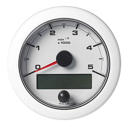 VDO Marine 85 mm OceanLink Tachometer 5000 U/min – Weiß [A2C1065800001]