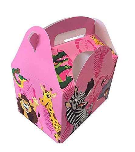Pack de menú para niño/Comidas Infantil/Puerta de Comidas/Fiestas/Happy Meal Box Decorado, Animal...