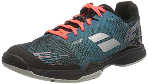 Babolat Jet Mach II All Court Men, Chaussures de Tennis Homme, Bleu foncé/Noir, 42.5 EU