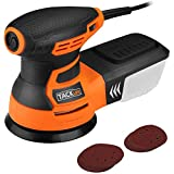 Eccentric Sander, TACKLIFE Electric Rotary Sander 350W 13000 OPM, 6 Variable Speeds, Equipped with Dust Box, 12pcs Sanding Disc, Sander For Wood Sanding | PRS01A