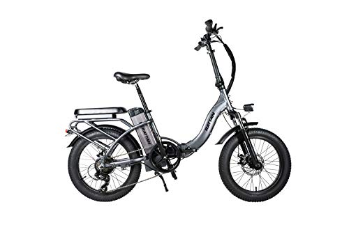 Rattan Electric Bike for Adults Folding Bikes 48V 500W 3.0 Fat Tire Bikes 13AH Removable Lithium-ion Battery E-Bikes 7 Speed Shifter Electric Bicycle Low Step Ebike