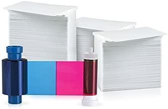 MAGICARD 300 Print YMCKO 5 Panel Ribbon for Rio Pro/Enduro (MA300YMCKO) Bundle (500 Cards)