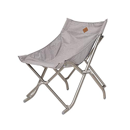 LifeX Chaise pliante de couleur unie à l'extérieur pour chaise pliante portative Siège de pêche à l'arrière chaise de plage Pliable Tabouret de marche Camping Moon Banc Chaise pliante en alliage d'alu