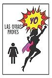 Profe Superhéroe: Regalo Para Profes - Cuaderno De Notas - Diario Personal - Regalos Originales Para Profesores De Todos Los Niveles