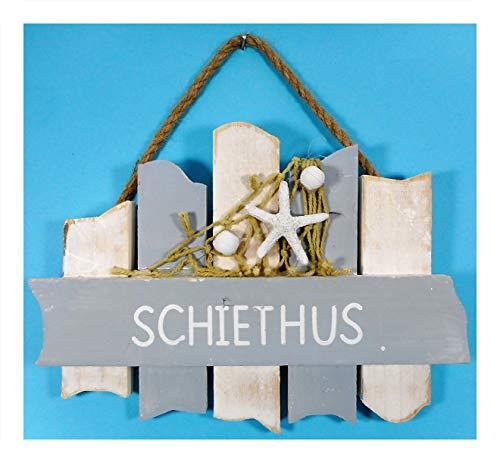 N / A Schiethus Badezimmer Schild 18 cm Möwe Beach Maritim Wohnen Deko 39.3495