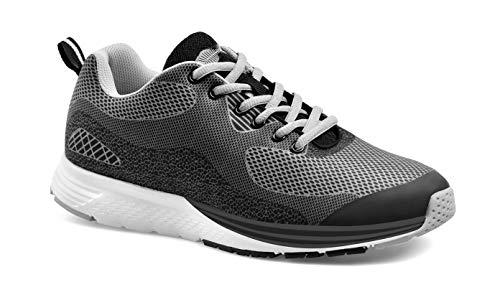 MY-DAY Fitness Schuhe Aquarium schwarz/grau