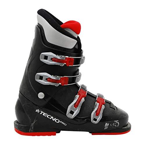 TECNOPRO Junior gebraucht Skischuh Tecno pro T50 schwarz