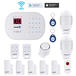 Best home security systems in 2018 buyers guide as the name fortress suggests the alarm kit allows you to sleep or even travel out of town knowing that your house is safe solutioingenieria Gallery