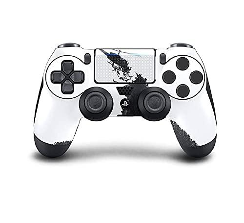 PS4 DualShock Manette sans fil Pro Console – Manette PlayStation4 avec prise en main douce et skin exclusive version personnalisée (PS4-World War Z)