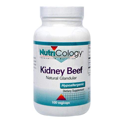 Kidney Beef, Natural Glandular, 100 vegicaps