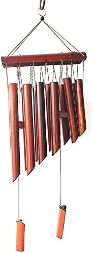 QHDE Wind Chimes Wooden Bells Safety Tucson Mall and trust Room Large Living Ba Creative