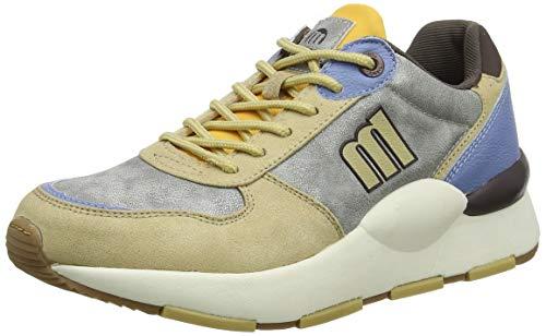 MTNG Damen 69643 Sneaker, Mehrfarbig (Soft BEIGE-Silver-Mostaza C47474), 38 EU