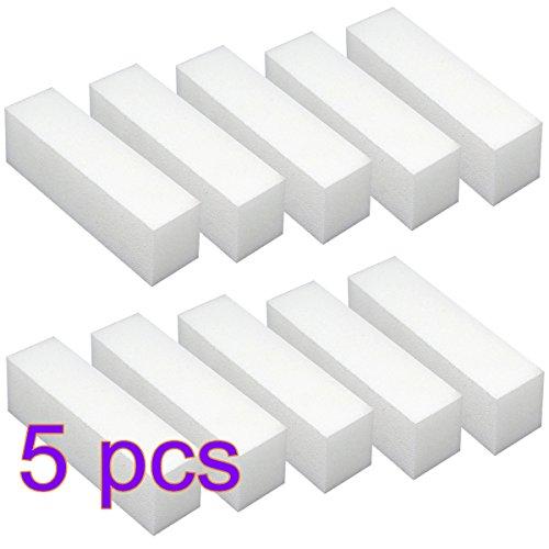 Arpoador 5 pcs Acrylique Nail Art Tips Buffer polissage Bloc de ponçage fichiers polonais Outil de manucure