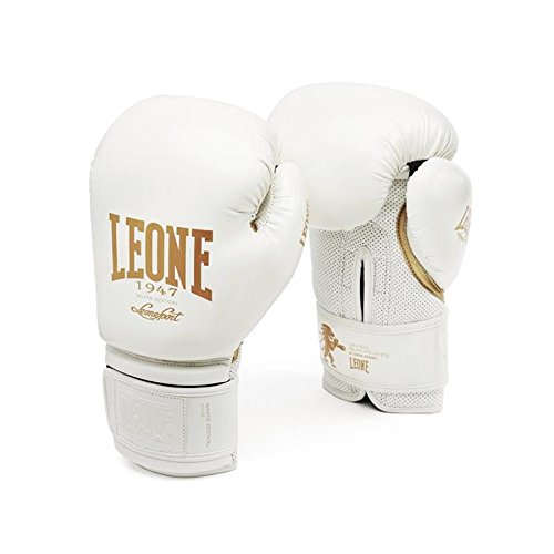 Leone 1947 Boxhandschuhe, Unisex – Erwachsene, Weiß, 12OZ