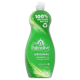 Palmolive Ultra Strength Concentrate Dishwashing Liquid 750mL, Original, Tough on Grease, Recyclable Bottle, Made in Australia, (Pack of 1) (B0778YGTTH) | Amazon price tracker / tracking, Amazon price history charts, Amazon price watches, Amazon price drop alerts