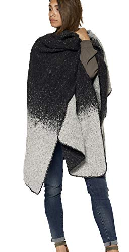 Circle of Trust Lana poncho Grey Melange Desigual One Size oversized cape