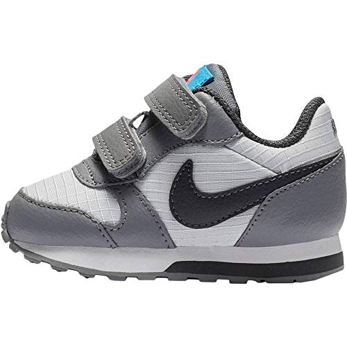 Nike Md Runner 2 (TDV) Hausschuhe, Mehrfarbig (Pure Platinum/Anthracite/Cool Grey 015), 22 EU