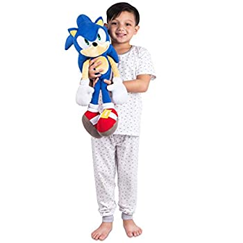 Franco Kids Bedding Super Soft Plush Cuddle Pillow Buddy One Size Sonic The Hedgehog