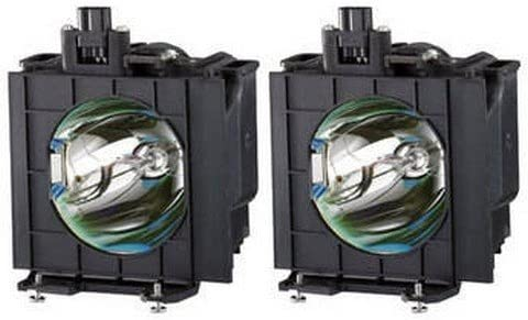 ET-LAD310AW Panasonic Twin-Pack Projector Lamp Replacement. Projector Lamp Assembly with Genuine Original Ushio Bulb inside. Twin-Pack contains 2 Lamps.