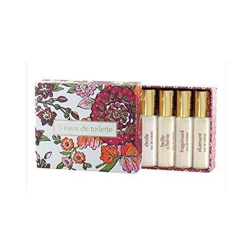 Fragonard Parfumeur 5 Eaux de Toilette - 5 x 0.13 oz