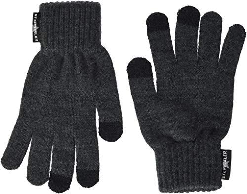 Sterntaler Touchscreen-Handschuhe, Größe: One Size, Grau (Anthrazit)