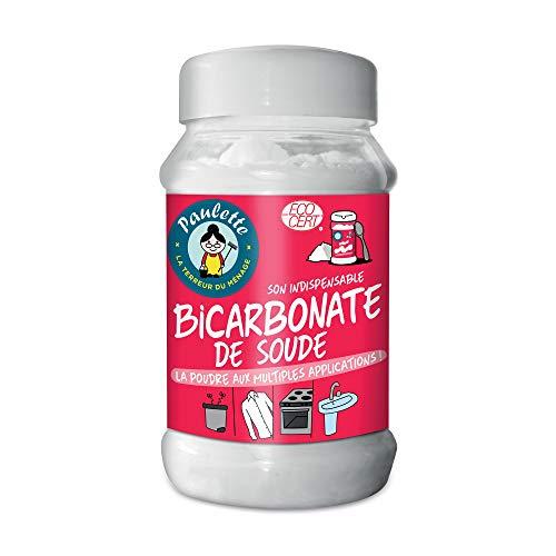 Paulette Bicarbonate de Soude Nettoie en Douceur Ravive les Couleurs Neutralise les Mauvaises Odeurs Authentique, Ecocert, 500 gramme