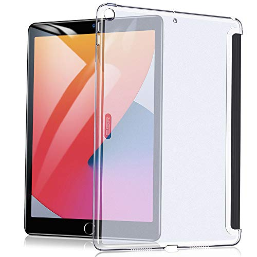 ESR Case for iPad 8th Generation (2020)/7th Generation (2019), Back Case for iPad 10.2 [Translucent Slim Hard Shell] [Supports Smart Keyboard & Smart Cover] Ascend Series