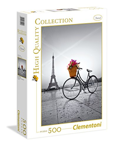 Clementoni- Romantic Promenade In Puzzle 500 pzas Collection Paris (35014.8)