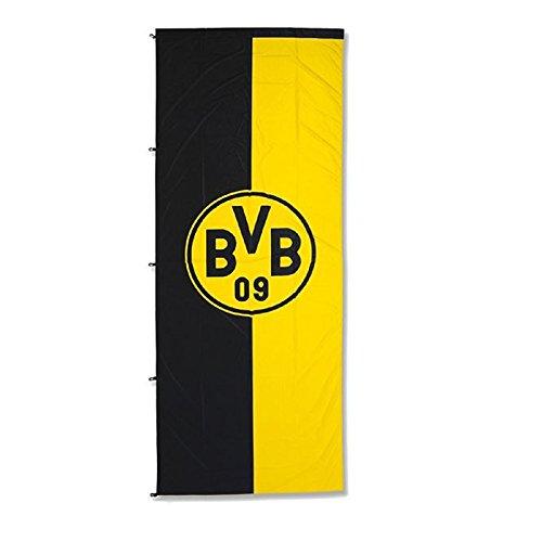 BVB Borussia Dortmund - Hissfahne Emblem 150x400cm - Fahne Flagge