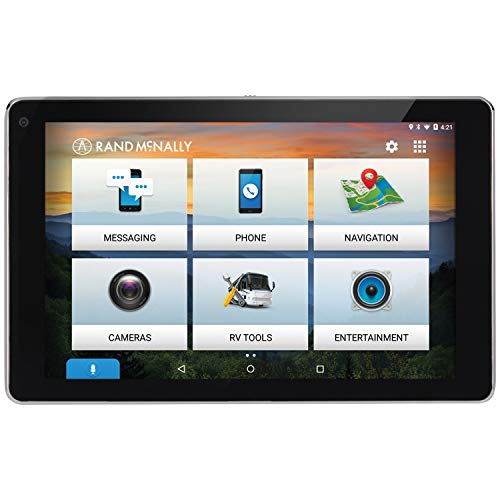 Rand McNally OverDryve 7 RV GPS Device with Built-in Dash Cam, Bluetooth & Free Lifetime Maps 0528018477