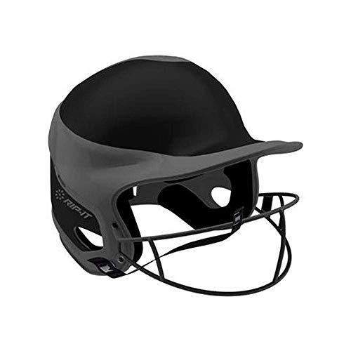 Elegante y duradero casco de Béisbol color Negro