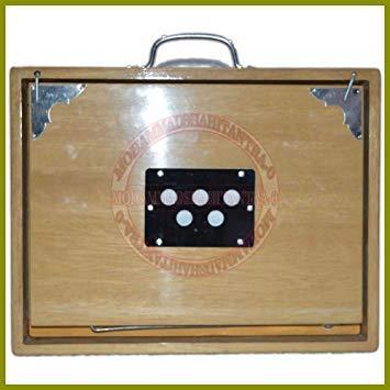 Best Brand NASIR ALI SHRUTI BOX SURPETI MADE OF TEAK WOOD SRUTI BOX