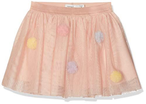 Name It Nmfpoppi Tulle Skirt LIC Jupe, Rose (Strawberry Cream Strawberry Cream), 92 Bébé Fille