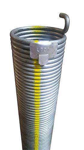 1 Stück Torsionsfeder L701 / L20 für Hörmann Garagentor Garagentorfeder Torfeder