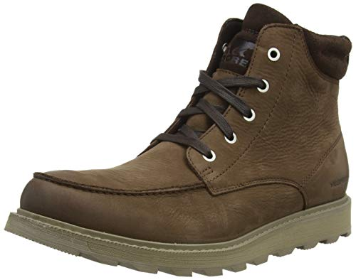 Sorel Men's Madson II Moc Toe WP Boot - Rain - Waterproof - Tobacco - Size 11