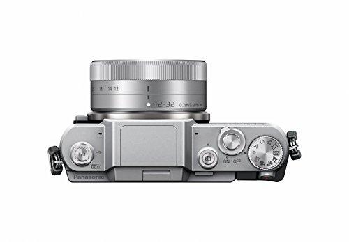 Panasonic LUMIX G DMC-GF7KEG-S Systemkamera (16 Megapixel, High-Speed Autofokus, 3 Zoll Touch-Display, WiFi und NFC) mit Objektiv H-FS12032E schwarz/silber