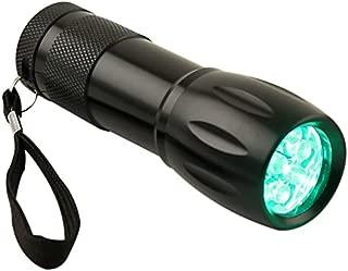Apollo Horticulture 9 Watt LED High Intensity Green Light Flashlight
