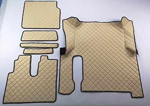 Alfombrillas para el maletero del hombre TGX 2018, 12 colores