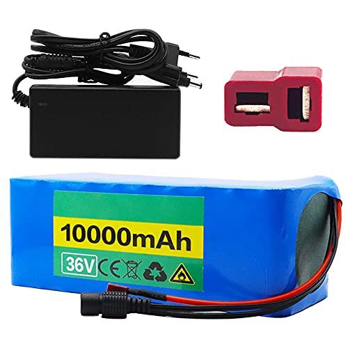 TGHY 36V 10Ah Batería de Litio para Bicicleta Eléctrica con BMS y...