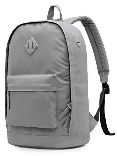 936Plus Laptop-Rucksack, wasserfeste Urban City Bookbag für College, Arbeit, Reisen, Grau