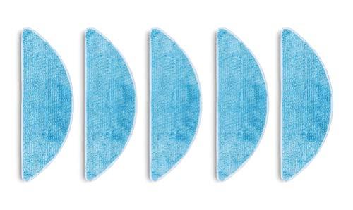e-Bulk - Panni In Microfibra Per Pulizia Umida, Ricambio Compatibile Con I Robot Aspirapolvere Ecovacs Deebot 605/715 /601/600 Confezione Da 5 Unità.