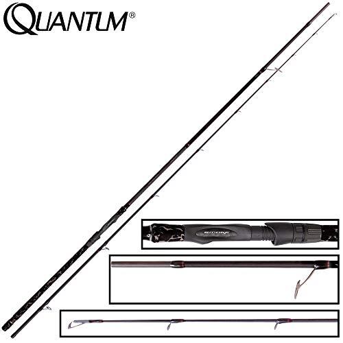 Quantum Smoke S3 Spin 55 2,70m 7-55g - Spinnrute zum Spinnfischen auf Zander & Hechte, Angelrute zum Spinnangeln, Zanderrute