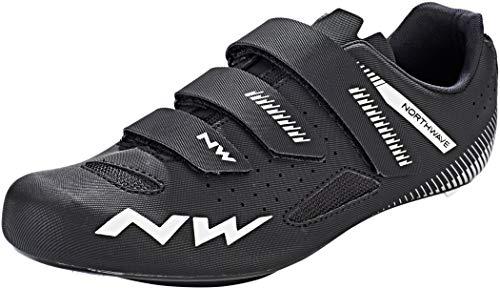 Northwave Core Rennrad Fahrrad Schuhe schwarz 2020: Größe: 39