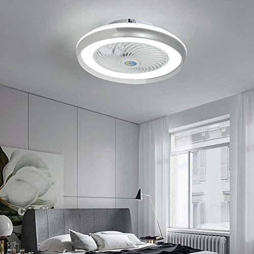 WTTCD Ventilador de Techo Con Iluminación Ventilador de Techo de 36 W Luz Led Velocidad del Viento Ajustable Regulable Control Remoto Luz de Techo del Dormitorio